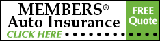 Members Auto Insurance Free Quote