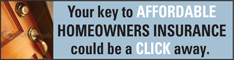 Your key to affordable homeowners insurance is only a click away