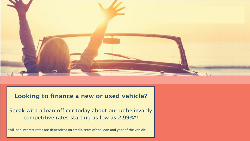Looking to finance a new or used vehicle?