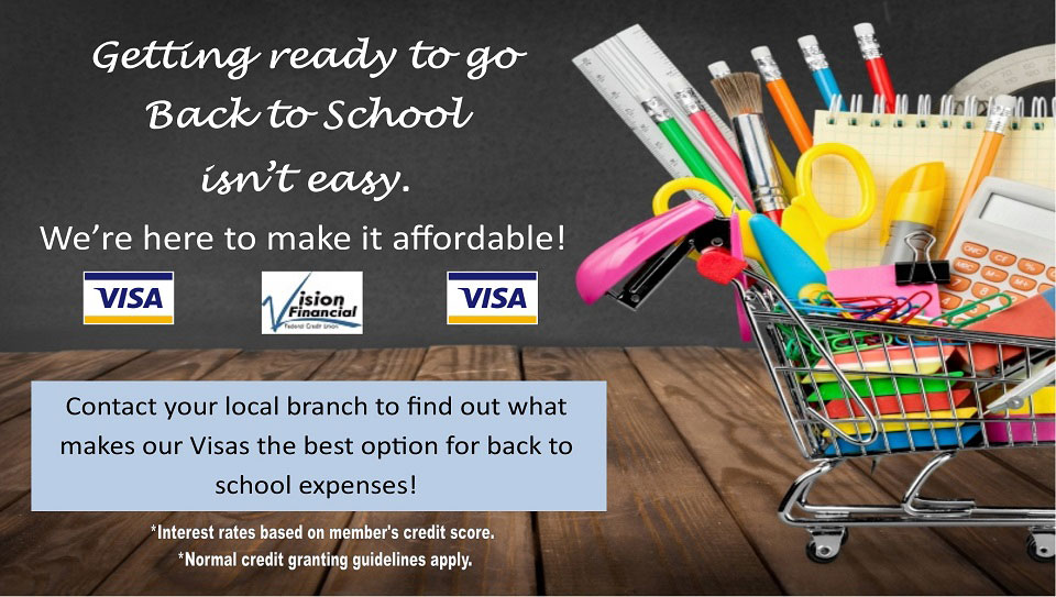 Getting ready to go back to school isn't easy. We're here to make it affordable.