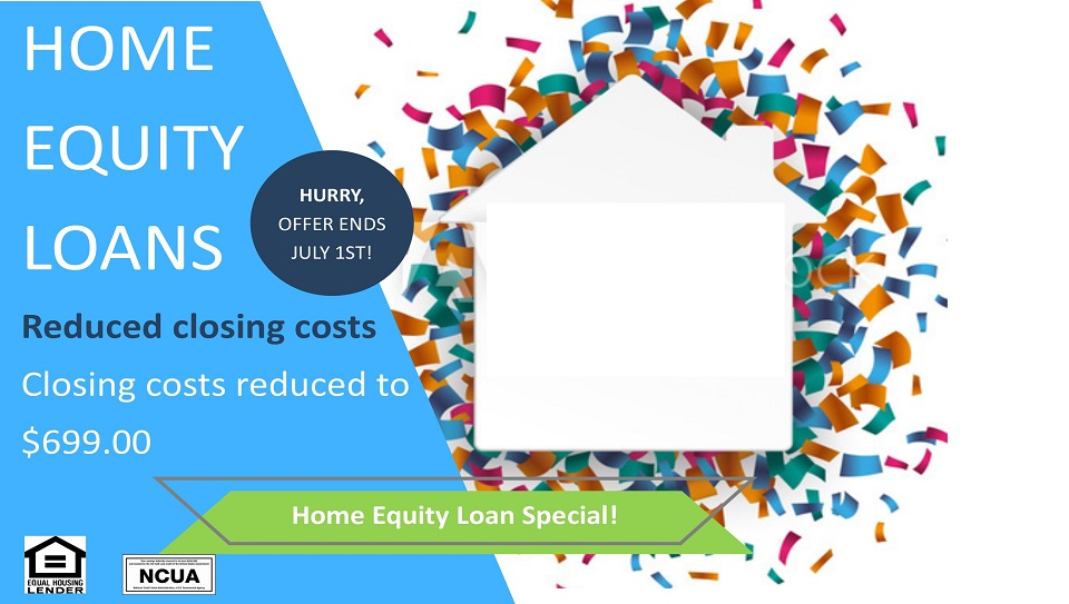 Home equity loans with closing costs reduced to 699 dollars